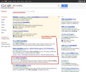 1st Page Google Image