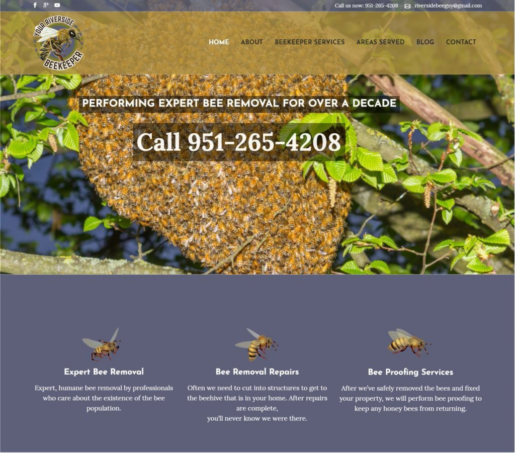 Beekeeper web design