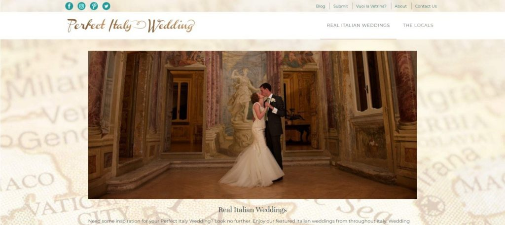 italy wedding services directory